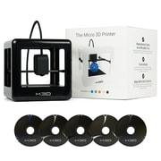 M3D Micro 3D Printer Starter Kit, Black