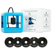 M3D Micro 3D Printer Starter Kit, Blue
