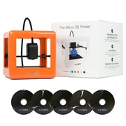 M3D Micro 3D Printer Starter Kit, Orange