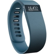 FitBit Charge Refurbished Wireless Activity Wristband, Small, Slate (FB404SLS)