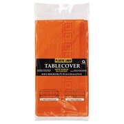 Amscan 3-Ply Orange Paper Tablecover, 9/Pack (57115.05)
