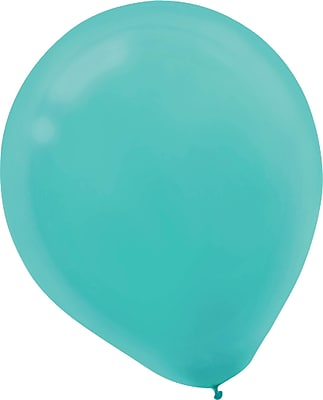 """""Amscan Solid Color Packaged Latex Balloons, 5"""""""", Robin's Egg Blue, 6/Pack, 50 Per Pack (115920.121)"""""" 1969866"