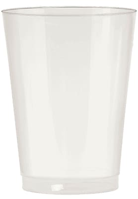 Amscan Big Party Pack 10oz Pearl Plastic Cups, 2/Pack, 72 Per Pack (350363.128) 1970897
