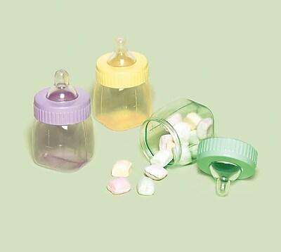 Amscan Fillable Baby Bottle Multi, 1.5'' x