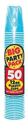 Amscan 12oz Caribbean Big Party Pack Cup, 5/Pack, 50 Per Pack (436800.54) 1970906
