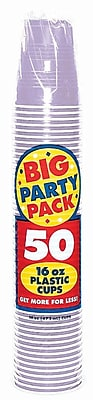 Amscan 16oz Lavender Big Party Pack Cup, 5/Pack, 50 Per Pack (436801.04) 1970963