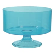 Amscan Trifle Container, Small, Caribbean Blue, 9/Pack (437841.54)