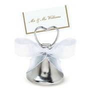 Amscan Silver Bell Place Card Holder, 24/Pack (451027)
