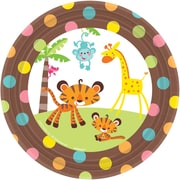 Amscan Fisher Price Baby Shower 7'' Round Paper Plates, 8/Pack, 8 Per Pack (544416)