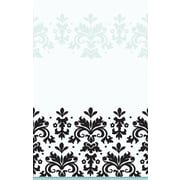Amscan Always and Forever Table Cover, 102''L x 54''W (579461)