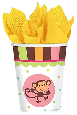 Amscan 9oz Fisher-Price ABC Baby Shower Paper Cups, 8/Pack, 8 Per Pack (583714) 1969740