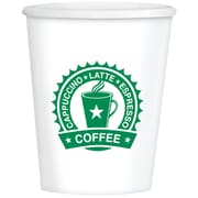 Amscan Coffee House, Paper Cups, 12oz, 3/Pack, 40 Per Pack (680129)