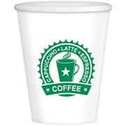 Amscan Coffee House 16oz Paper Cups, 2/Pack, 40 Per Pack (680133)