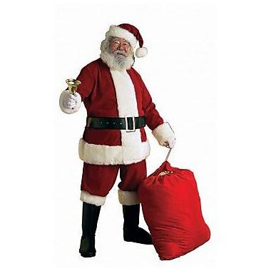 Ultra Velvet Santa Suit with Faux Fur Trim, XX-Large