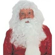 Ensemble de barbe et perruque de Père Noël, de luxe