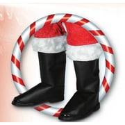 Couvre-bottes de Père Noël de luxe