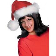 Chapeau de Père Noël avec fausse fourrure monarque