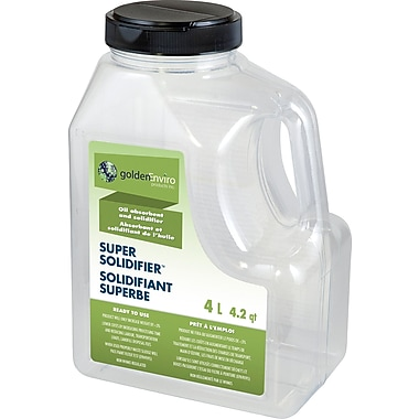 Golden Environmental – Solidifiant léger superbe pour huiles, carburants et hydrocarbures, 4 l