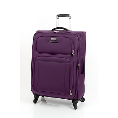 Ricardo Beverly Hills – Bagage expansible California 2.0 à roulettes multidirectionnelles, 25 po, mauve