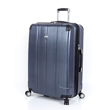 Ricardo Beverly Hills – Valise expansible Protector 2.0 à roues multidirectionnelles, 28 po, bleu marine