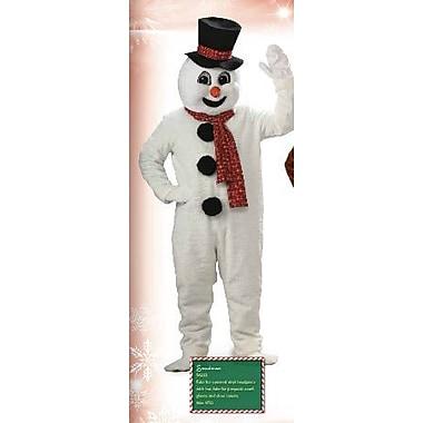 Costume mascotte de bonhomme de neige