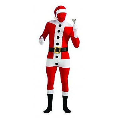 Santa Clause 2nd Skin Suit, Large