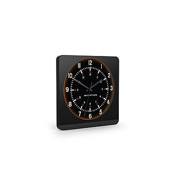 Marathon Auto-Night Light Analog Jumbo Wall Clocks