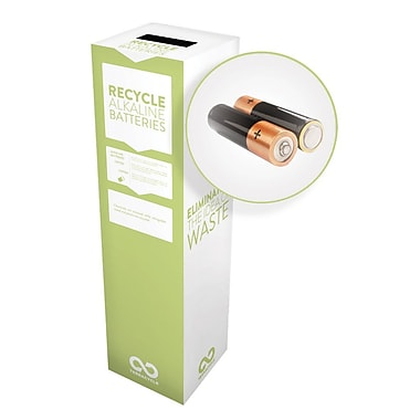 TerraCycle® Alkaline Batteries Zero Waste Box, 10
