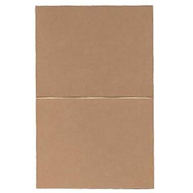 JAM Paper® – Cartes de repli, 4,25 po x 5,5 po, paq./50