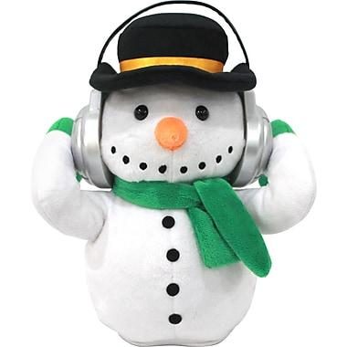 iTalk Adorable Snowman Portable Plush Bluetooth Communication Speaker