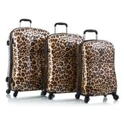 Heys Fashion Spinner Exotic Leopard Polycarbonate Composite 3Pc Set (13062-1263-S3)