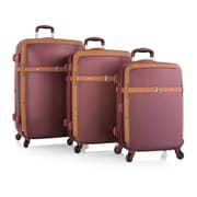Heys Executive Series  Burgundy 100% Polycarbonate Heritage 3Pc set (15016-0017-S3)