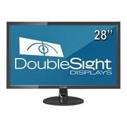 "DoubleSight DS-280UHD 28"" 4K UHDTV 2160p LED-Backlit LCD Monitor Black"