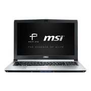 "MSI PE60 6QE-031US 15.6"" Full HD Display, Intel Core i7 6700HQ, 1TB HDD, 8GB RAM, Windows 10 Notebook, Aluminum Silver"