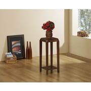 Monarch Specialties Accent Table, Brown Oak Veneer (I 1946)