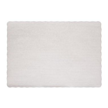 Hoffmaster HFM PM32052 Paper Placemats, White