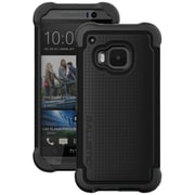 BALLISTIC Tough Jacket Case for Use with HTC  One (M9) ,Black (BLCTJ1598A06N)