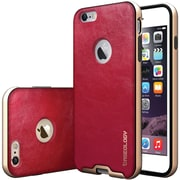 CASEOLOGY Envoy Series Leather-Bound Case for iPhone 6 Plus and iPhone 6S Plus, Burgundy Red