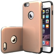 CASEOLOGY Sleek Armor Case for Use with iPhone  6 Plus/6S Plus, Copper Gold