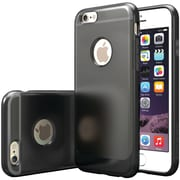 CASEOLOGY Frostback Clear Case for iPhone 6/6S, Black (CGYIP6BLKBK)