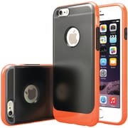 CASEOLOGY Frostback Clear Case for iPhone 6/6S, Orange (CGYIP6BLKOR)