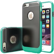 CASEOLOGY Frostback Clear Case for iPhone 6/6S, Turquoise Mint (CGYIP6BLKTQ)
