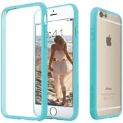 CASEOLOGY Clear Back Bumper Case for iPhone 6/6S, Turquoise Mint (CGYIP6FUQ)