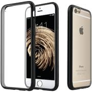 Caseology Clear Back Bumper Case for Use with iPhone  6/6S, Black CGYIP6FUSBK()