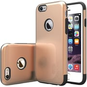 Caseology Sleek Armor Case for Use with iPhone  6/6S, Copper Gold (CGYIP6METGD)