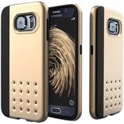 CASEOLOGY Sleek Armor Threshold Series Case for Samsung Galaxy S 6, Gold (CGYGS6EDGGD)