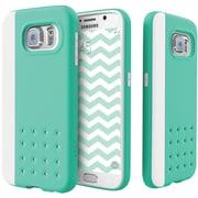 CASEOLOGY Sleek Armor Threshold Series Case for Samsung Galaxy S 6, Turquoise Mint (CGYGS6EDGTQ)