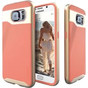 Caseology Wavelength Series Case for Use with Samsung  Galaxy S6, Coral Pink (CGYGS6GRLPI)