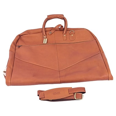 Claire Chase Garment Bag; Saddle