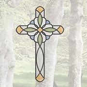 Brewster Home Fashions Peel and Stick Decor Cross Window Sticker